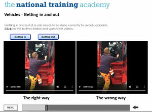 Working at Height Online Training screen shot 5
