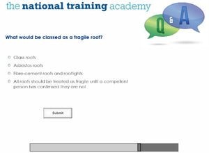 Working at Height Online Training screen shot 7