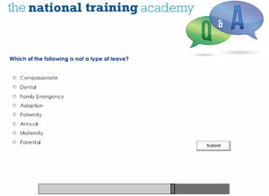 Writing a Staff and Volunteer Policy Online Training screen shot 7