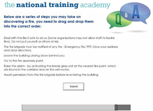 Fire Safety Online Training - screen shot 7