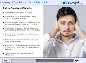Learning disabilities awareness course  screen shot 5