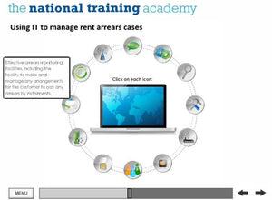 Management and Recovery of Rent Arrears Online Training screen shot 3