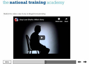 Management and Recovery of Rent Arrears Online Training screen shot 4