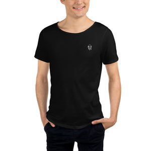 Scream Icon - Men's Raw Neck Tee