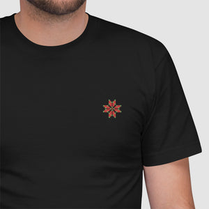 Palestinian embroidery - American Apparel 2001W Unisex Embroidered T-Shirt