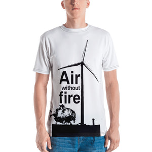 Air without Fire - All-Over Print Men's Crew Neck T-Shirt