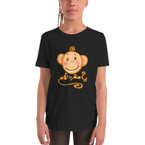 Mokeying - Bella + Canvas 3001Y Youth Short Sleeve Tee with Tear Away Label