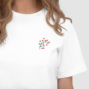 Fruit - American Apparel 2001W Unisex Embroidered T-Shirt
