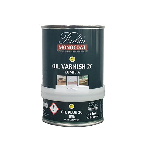 Oil Varnish Satin set - 350ML