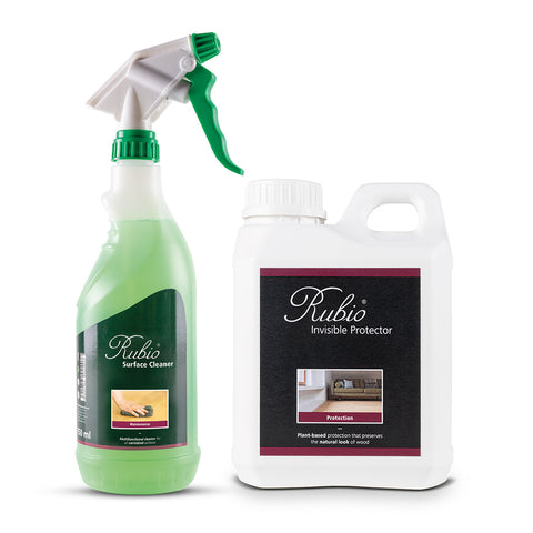 Rubio Invisible Protector & Rubio Surface Cleaner Bundle - 1.75L
