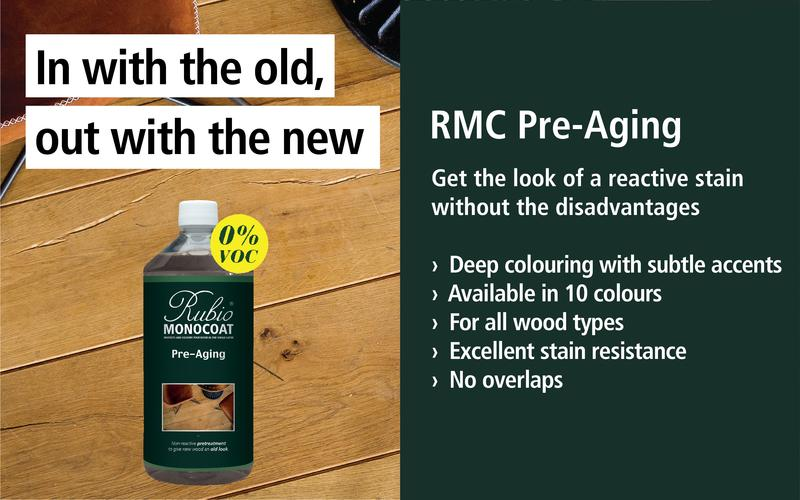Rubio Pre-Aging - Get the look of a reactive stain without the disadvantages.