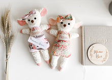 Chenille Lamb - Personalised Name - Mama Bear