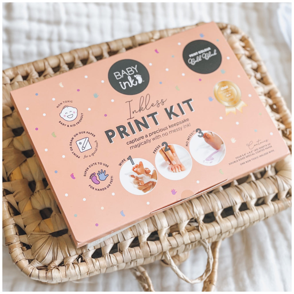 Ink-less Hand and Foot Print Kit