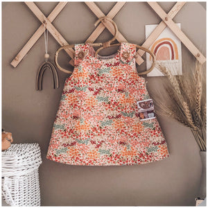 Floral Pinafore - Mama Bear