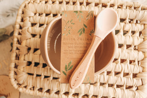 Silicone Suction Bowl & Spoon Set - Bella Zailea
