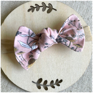 Baby Hairbow | Clip or Nylon Band