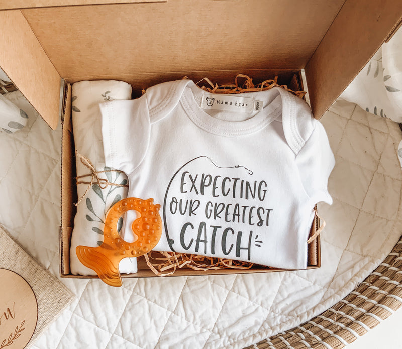 Pregnancy Announcement Giftbox - Expecting Our Greatest Catch
