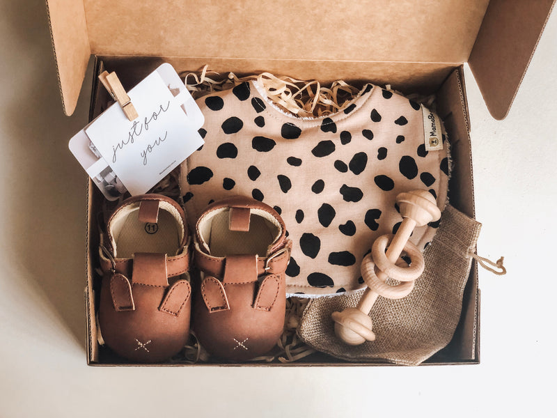Farmyard Moccasin Gift Set