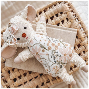 Chenille Lamb - Pastel Meadow