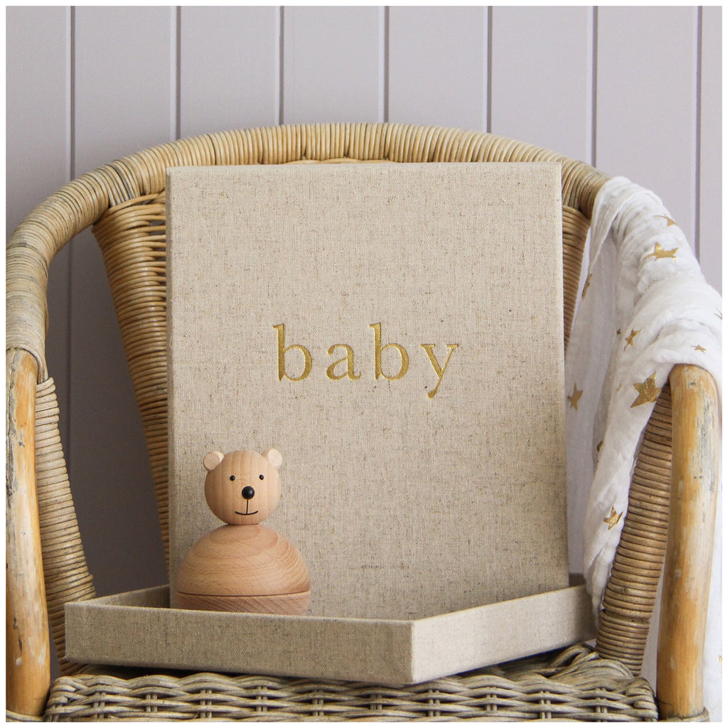 Baby - First Year of You Journal - Mama Bear
