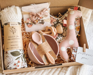 Mama-to-be Giftbox | Australiana Giraffe