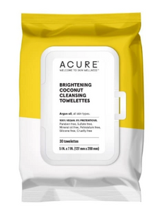 Acure Coconut Face Wipes