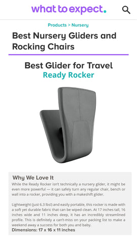 Best Nursery Gliders and Rocking Chairs