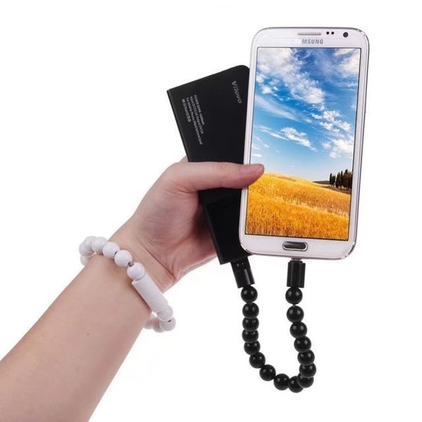 Beads Bracelet Micro USB Charging Cable