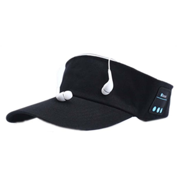 Wireless Bluetooth Sun Cap Earphones