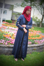 Midnight Blue Abaya Muddatthir