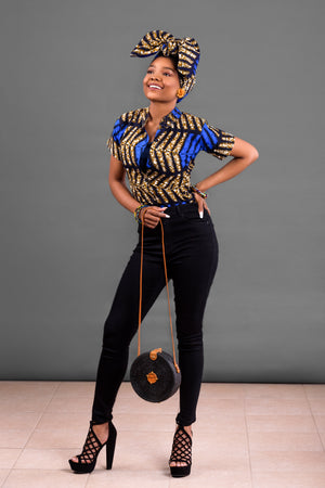 Talia Ankara Short Sleeve Shirt