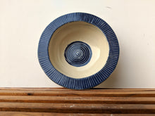 Load image into Gallery viewer, Dark Blue Pasta Bowl