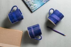 Purple Overlap Mug