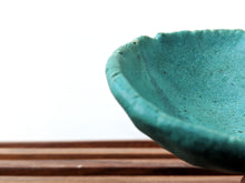 Load image into Gallery viewer, Small Turquoise Pinch Bowl
