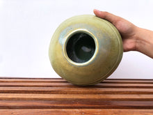 Load image into Gallery viewer, Carved Green Matka bowl