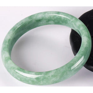 Certificate Wholesale High Quality Natural Jade Bangles Grade A Pure Natural Stone Bracelet  Jade Jewelry