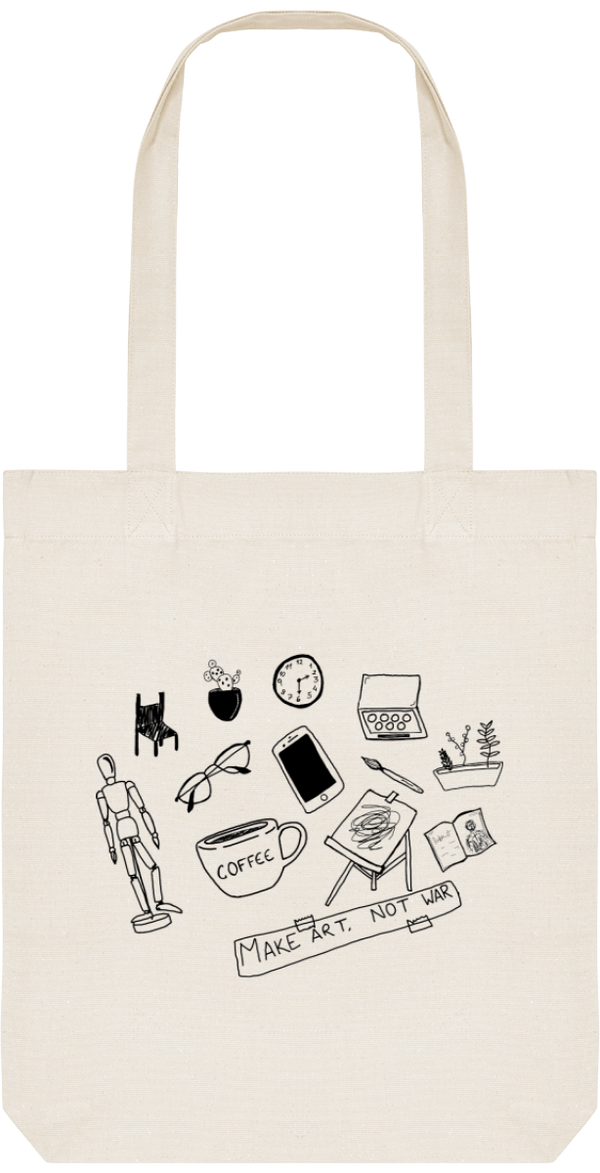 Tote Bag Make Art