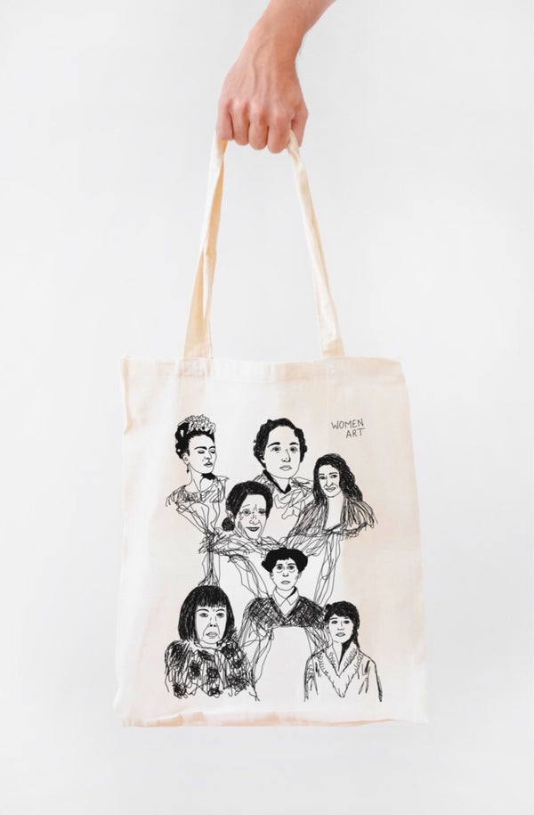 Tote Bag Women Art