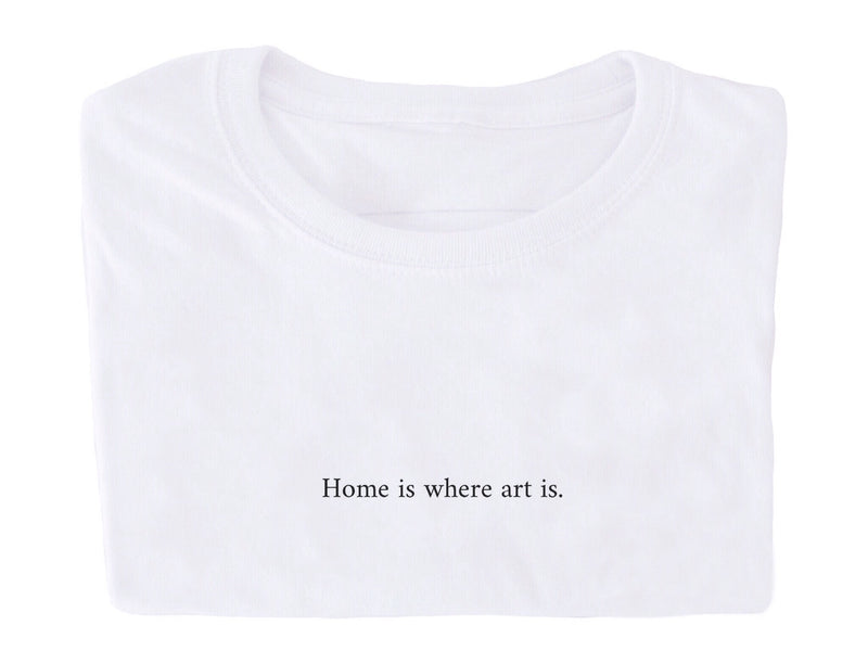 Home is where art is
