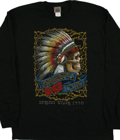 Liquid Blue 1990 Spring Tour Long Sleeve