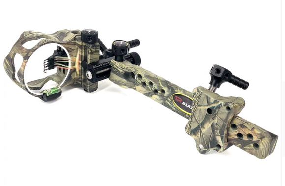 5 Pin Camo Long Bar Bow Sight