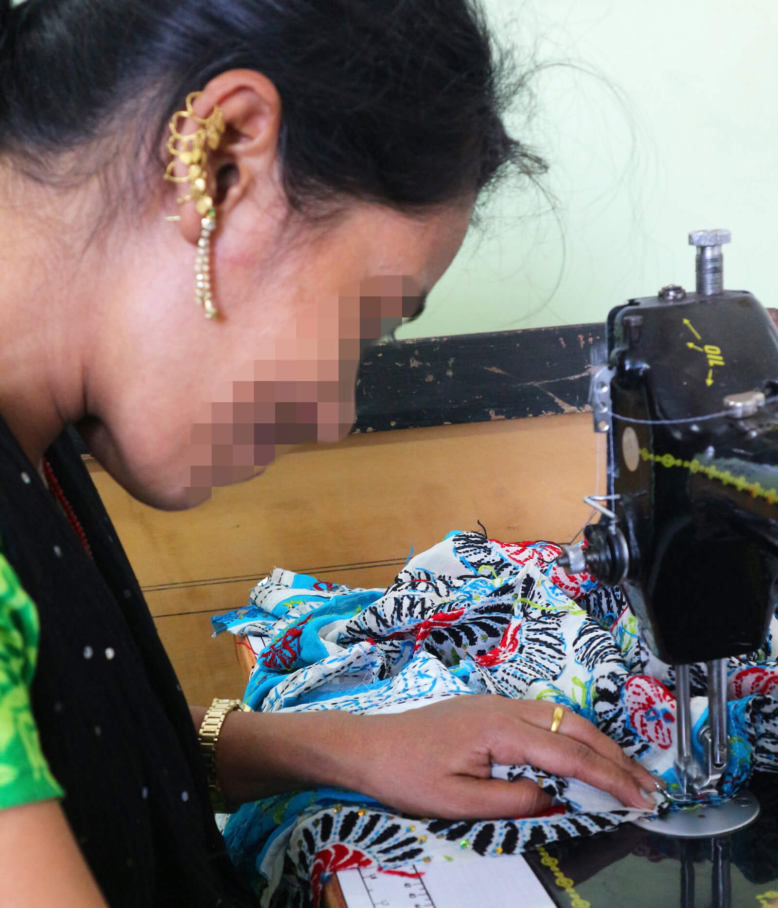 nalini sewing