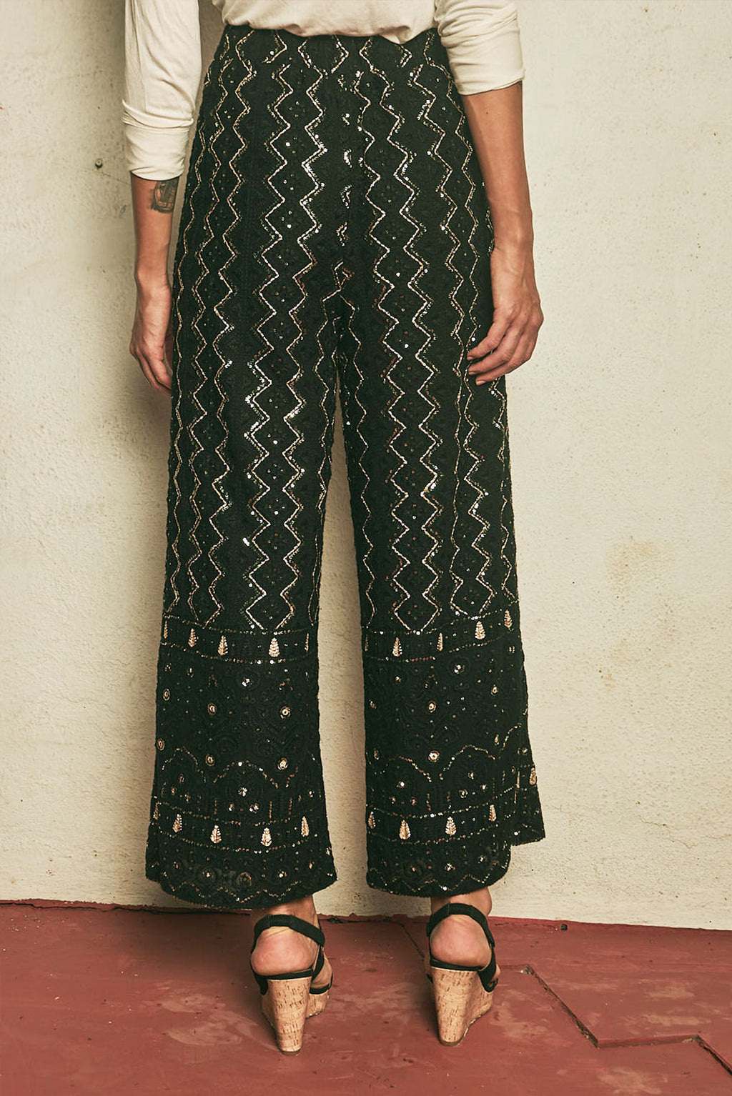 Bollywood Nights High Waisted Pants