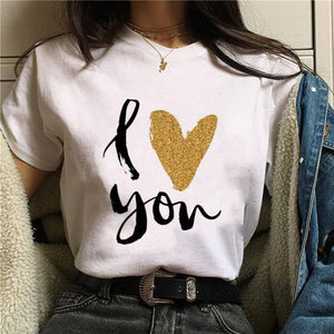 2020 Hot Harajuku Shiny red lips Graphic T Shirt Women Cartoon Grunge T-shirt Fashion Tshirt Ullzang Top Tee Female ropa mujer