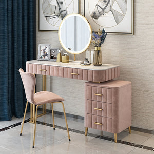 Nordic Solid Wood Dressing Table Bedroom Modern Minimalist Window Dressing Table Storage Unit 2019 New
