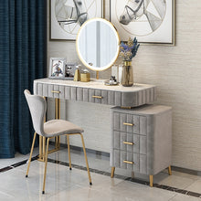 Load image into Gallery viewer, Nordic Solid Wood Dressing Table Bedroom Modern Minimalist Window Dressing Table Storage Unit 2019 New