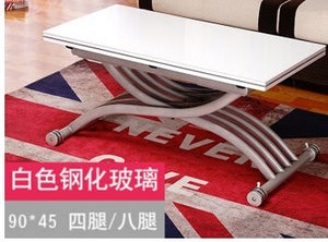 Changed the small family of tea table. Square. The multi-function. Folding. Lifting. Tea table. The table.