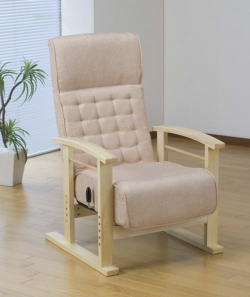 Japanese Style ArmChair Folding Furniture Legs Height Adjustable Lazy Arm chair For Elderly Home Living Room Foldable Chair