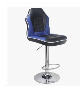 Fashionable bar chair. European style tall chair. Front desk receives silver chair. Conference chair bar stool