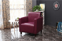 Load image into Gallery viewer, SOLO French style  one site  sofa modern coffee bar Internet bar stools with armchair single leather couch living room furniture